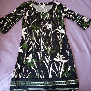 LOFT A-Line Floral Dress